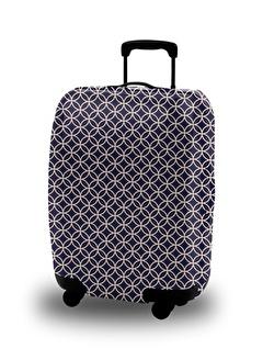 My Bag My Bag 4585 cm Polyester Renkli Desenli Valiz Kılıfı